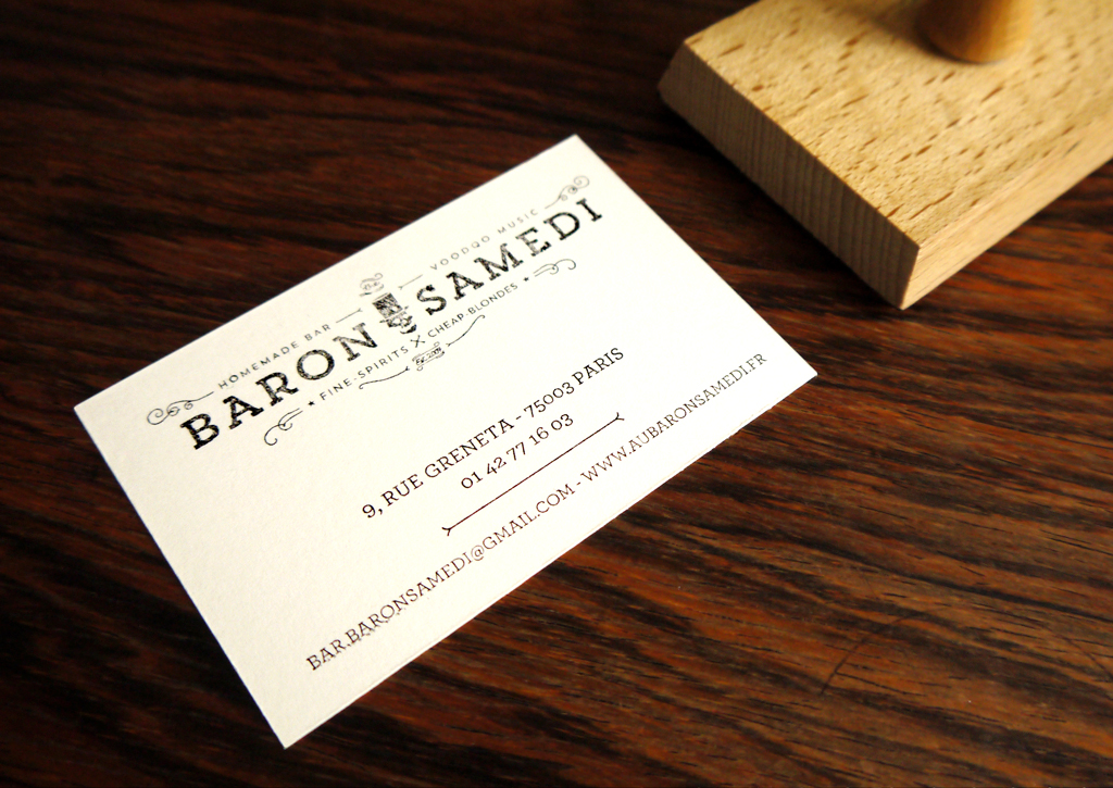 Baron Samedi - Stamp for cards
