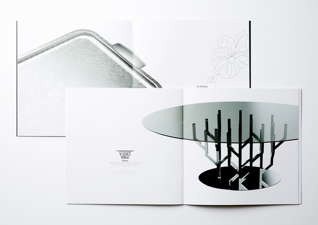 Christofle - Catalog - Inside pages