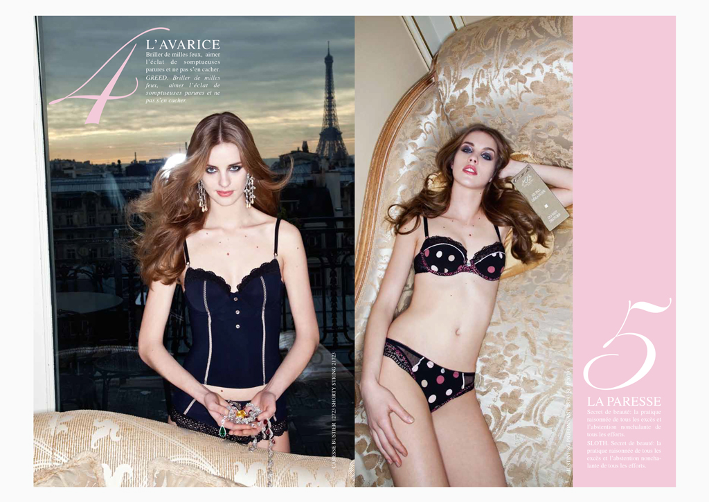 Hechter Lingerie - FW 2009/10 - Inside pages