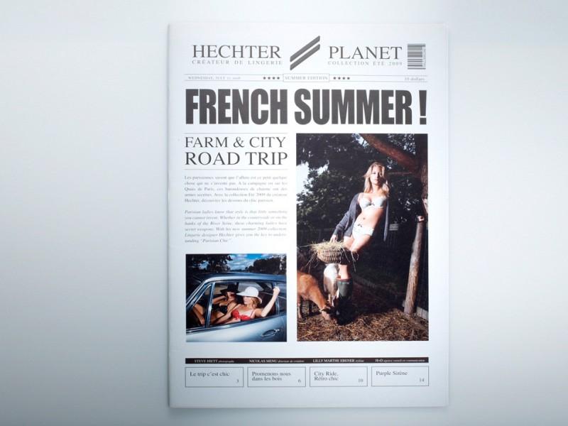 Hechter Lingerie - SS 2009 - Cover