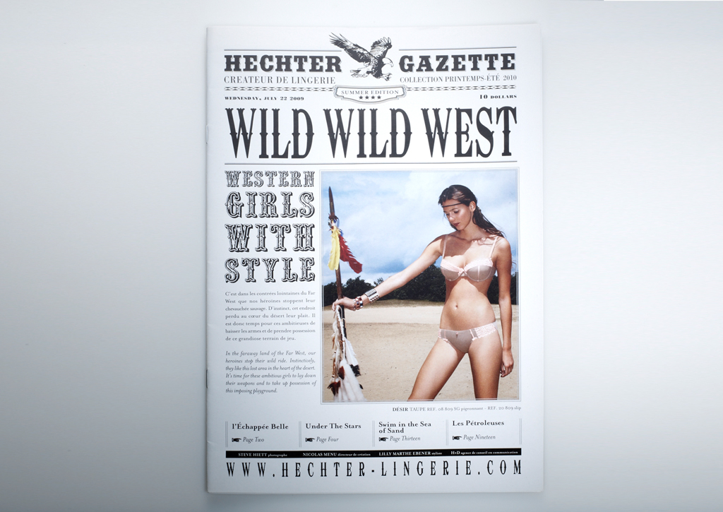 Hechter Lingerie - SS 2010 - Cover