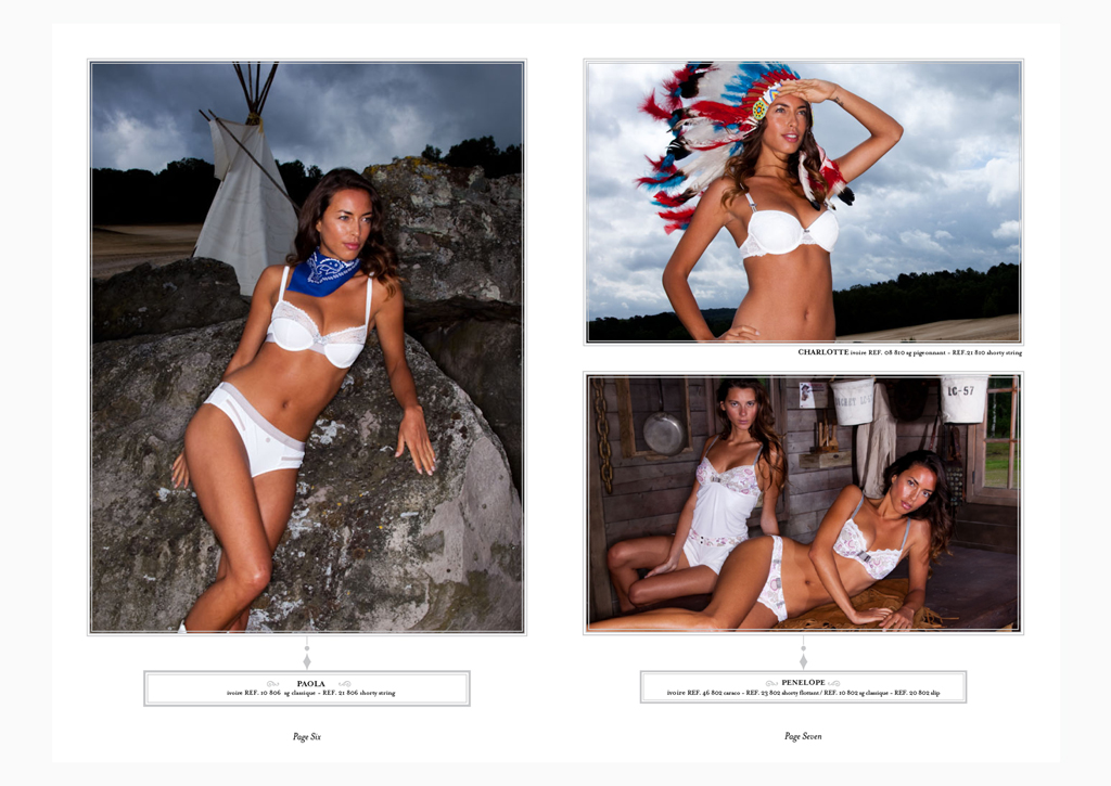Hechter Lingerie - SS 2010 - Inside pages