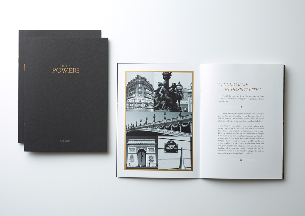 Hotel Powers - Brochure - Cover/Inside pages