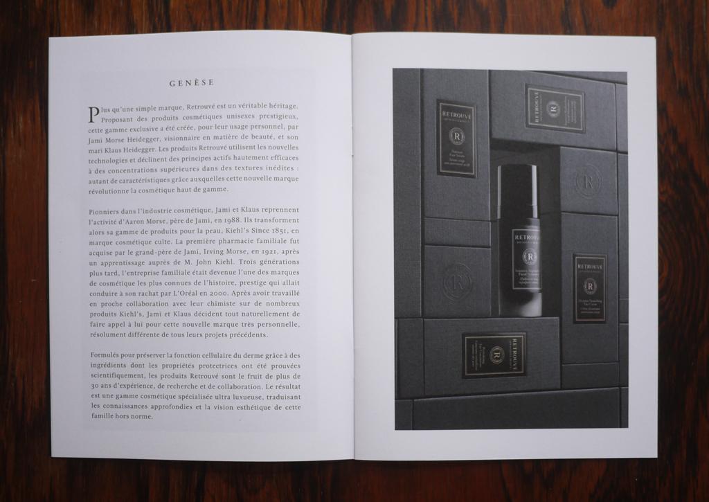 Retrouvé - Inside pages