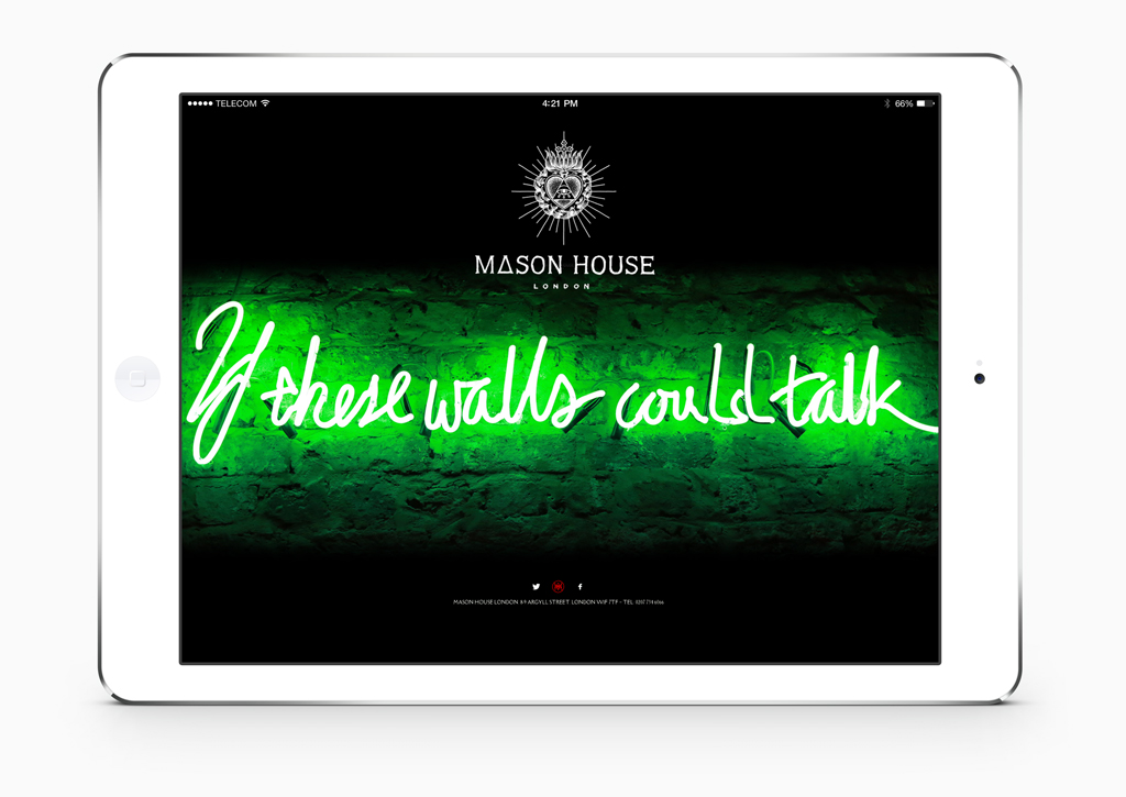 Mason House - Website