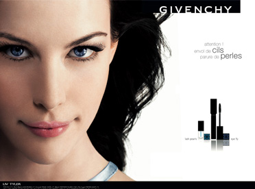 Givenchy - Campaign - Make-up - Liv Tyler