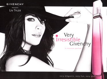 Givenchy - Campaign - Very Irresistible - Liv Tyler